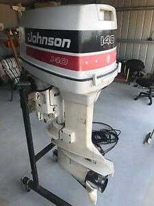 Johnson 140 hp Outboard Motor Greenbank Logan Area Preview