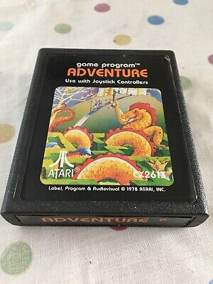 Atari 2600 Game Cartridge ADVENTURE only CX2613 Untested