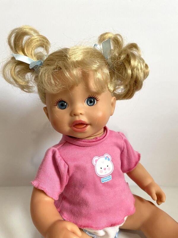 "Mattel Little Mommy Gotta Go Potty Talks & Laughs Interactive Doll 14"" 2007 Used"