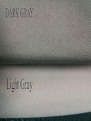 Stereo Speaker Grill Cloth Fabric Dark Gray 36