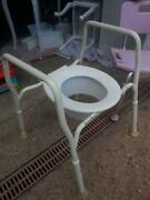 AGED CARE SHOWER CHAIR AND TOILET CHAIR - $50 EACH OR $80 PAIR Murrumba Downs Pine Rivers Area Preview