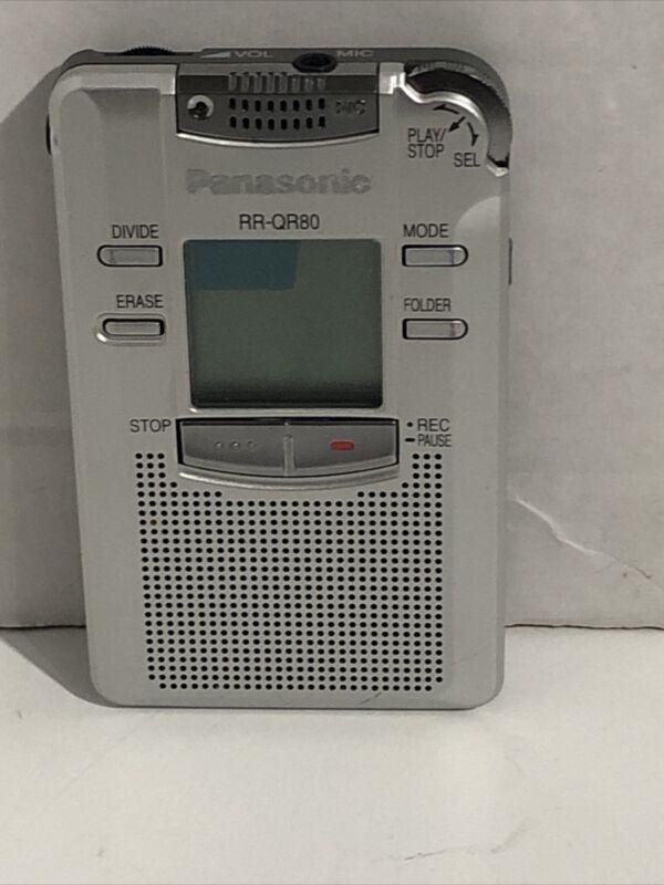 Panasonic RR-QR80 Handheld Digital Voice IC Recorder Dictaphone - EVP - JAPAN