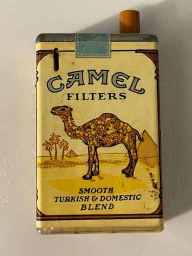 Vintage Camel Filters Cigarette Butane Lighter