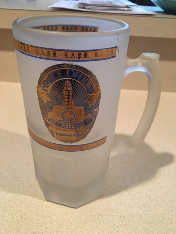 LAPD Beer Mug