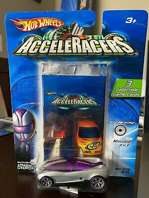 2005 Hot Wheels Cartoon Network Acceleracers Metaloid ERROR RARE!