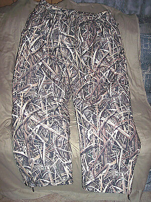 Mens 2X Camo Pants Drake Cold Weather Pants Mossy Oak Insulated Hunting Pants