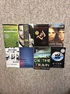 Assorted Books $10.00 each *Great Condition*