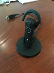 Bluetooth earpiece headset+mic (for PlayStation)