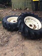 Tractor tyres and rims Nairne Mount Barker Area Preview