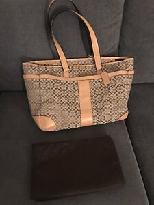 Coach diaper bag/large tote