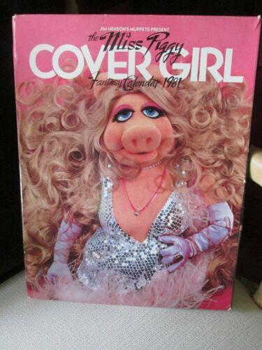 1981 Miss Piggy CoverGirl Calendar