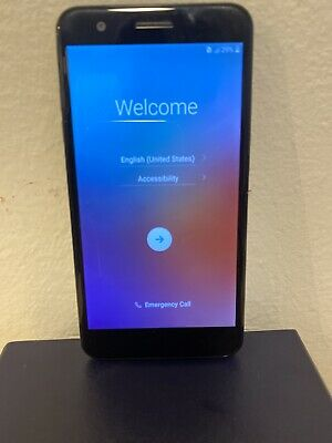 LG K30 X410MK - 32GB - Black - (MetroPCS) -Works Great! Dual Band Quad Band