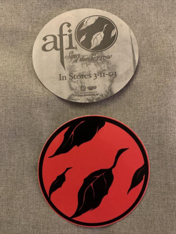 """AFI - SING THE SORROW 2003 NITRO PROMO Sticker 4"""""""