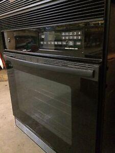 Propane wall oven