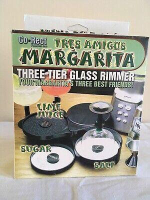 JOSE CUERVO TEQUILA - PROMO 3-TIER MARGARITA GLASS RIMMER (Logo 2) - *NEW* 2 Tier Glass Rimmer