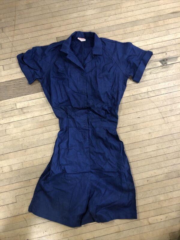 Vintage Broderick Womens PE uniform Official Gym Wear Rare Usa