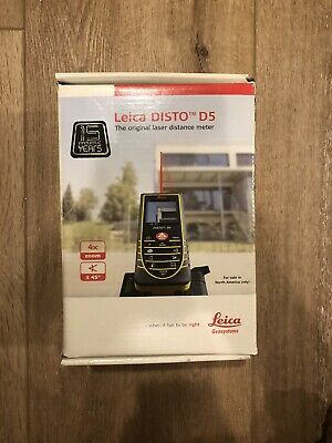 Leica Disto D5 Laser Distance Meter - Free Shipping