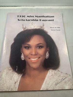 Miss America New York Manhattan scholarship beauty pageant program 1990