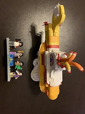 LEGO Ideas Yellow Submarine (21306) Used Complete