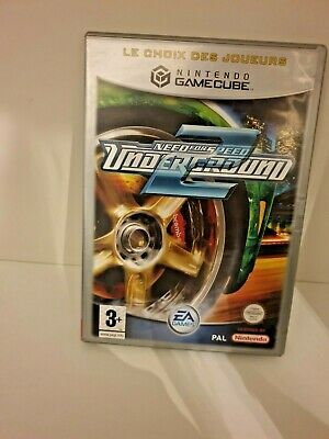 Jeu Nintendo - Gamecube - Need for speed Underground 2 - PAL FRA