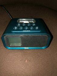 iHome iH22 Alarm Clock Docking Station for iPod or iPhone - Blue