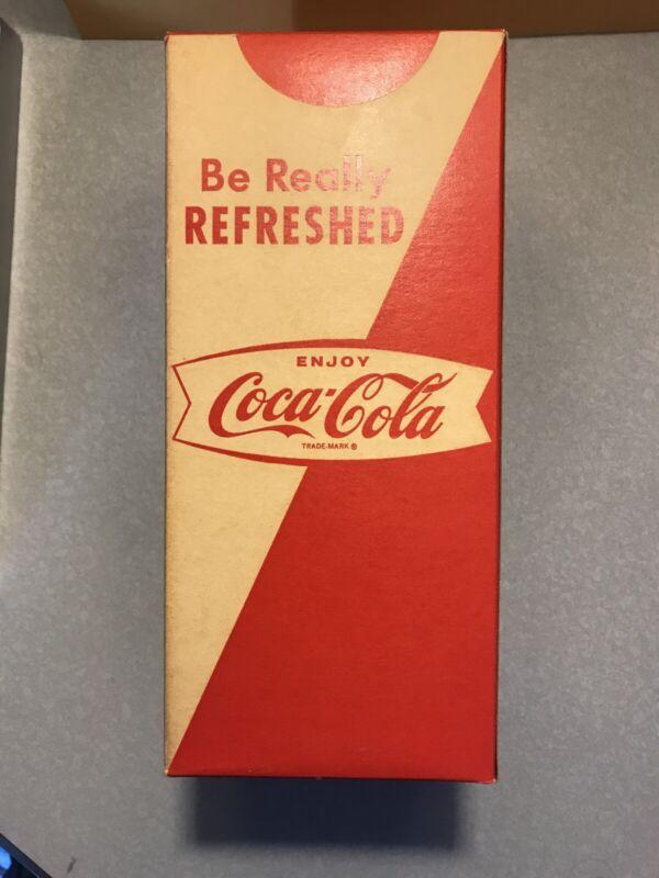 Coca Cola Fishtail Straw Box