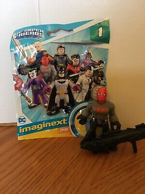 Imaginext DC Super Friends Blind Bag Series One Red Hood & Accessory New