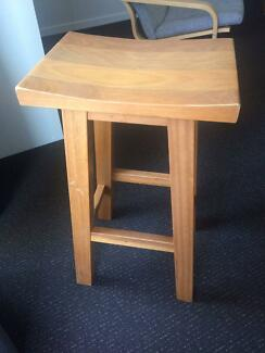 Solid Timber Bar Stool