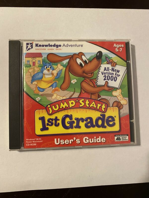 Jump Start 1st Grade Classic Version CD ROM