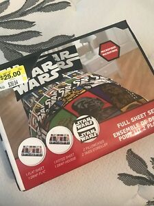 Star Wars brand new double bed sheets