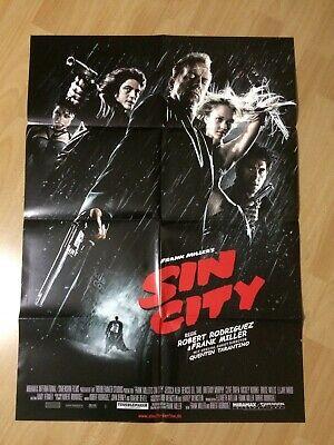 Filmposter * Kinoplakat * A1 * Sin City * 2005 * Bruce Willis