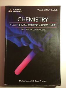WACE STUDY GUIDE CHEMISTRY YEAR 11 UNIT 1 & 2 Ellenbrook Swan Area Preview