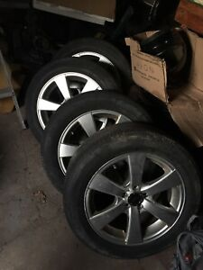 5x100 rims with tires