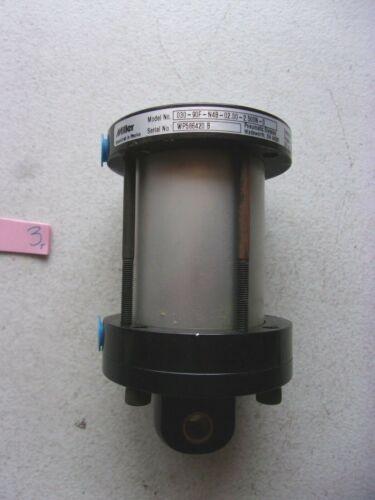 NEW NO BOX MILLER PNEUMATIC AIR CYLINDER 030-90F-N4B-02.00-2.500N-0 (167-2)