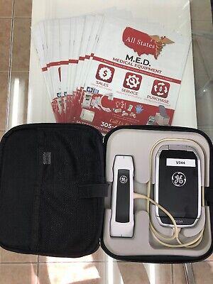 Ge Vscan Wdual Probe Handheld Portable Ultrasound
