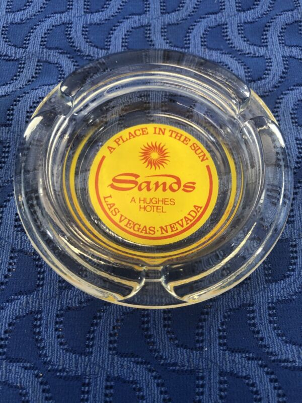 """Vintage Las Vegas Nevada Ashtray """"A Place in the Sun"""" The Sands Hotel"""