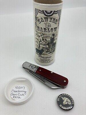Great Eastern Cutlery GEC knife TC Barlow SFO 153117