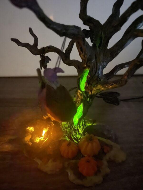 LEMAX SPOOKY TOWN - LIGHTED TREE NIGHTFLIGHT 24762 EERIE LIGHTING - RETIRED