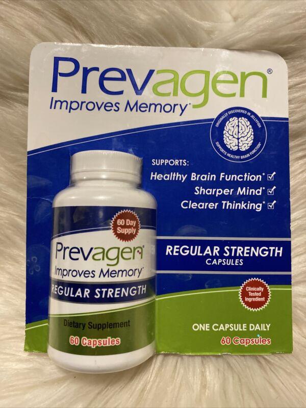 Prevagen Regular Strength Improves Memory 10mg - 60 Capsules