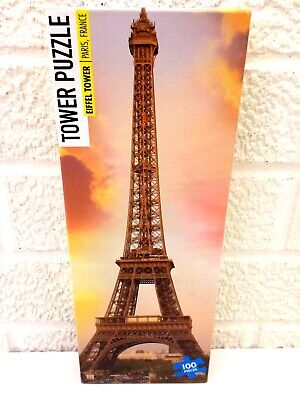 KAPPA EIFFEL TOWER 100 PIECE SMALL PUZZLE NEW! FREE SHIPPING!](Eiffel Tower Puzzle)