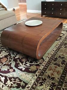 Oval bamboo coffee table Northbridge Willoughby Area Preview