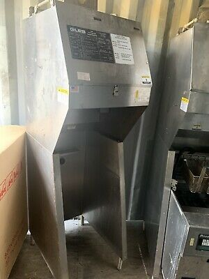 Giles Fsh-2-ph 29 1116 Ventless Hood Electric- 3 Stage Filtration Tested