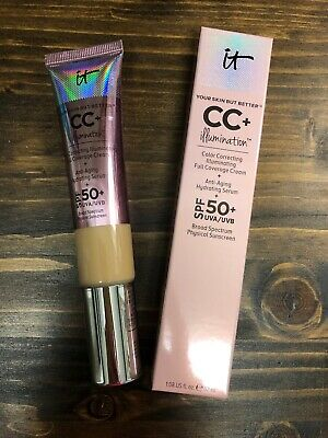 NIB - IT Cosmetics CC+ Cream (LIGHT) Your Skin but better Illumination SPF