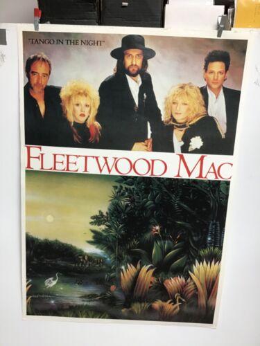 """Fleetwood Mac """"Tango in the Night"""" UK Poster"""