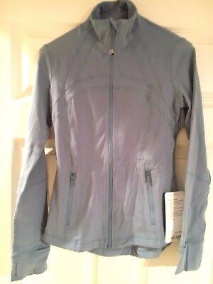 Lululemon Define Jacket Size 6   Seascape Blue Nwt