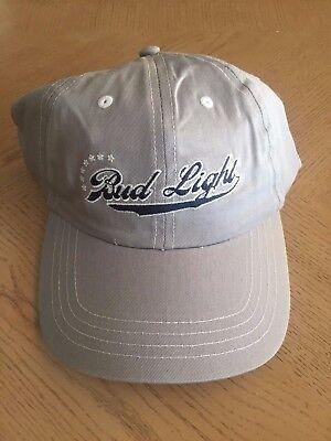 Bud Light Hat Anheuser-Busch Star Field Grey Golf Baseball Cap Beer - China Hat Area Light