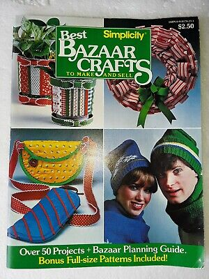 1982 simplicity best bazaar crafts to make and