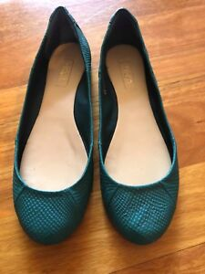 Siren blue flats size 8 Yowie Bay Sutherland Area Preview