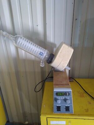 Yamato Rotary Evaporator Model Re50 With Coil Condenser
