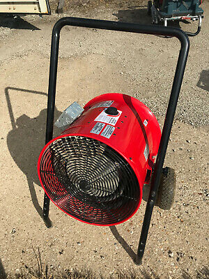 Marley Portable Electric Blower Heater.51180 Btu.480 Volt. 3 Phase.4 Available.